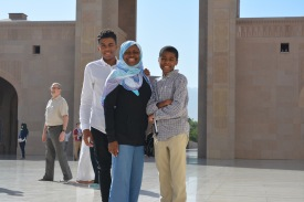 Outside the Mosque