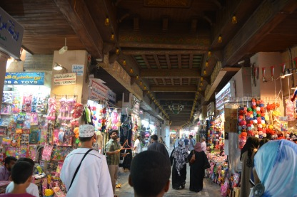 Shopping at the Souk