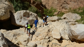 Hiking at the Wadi