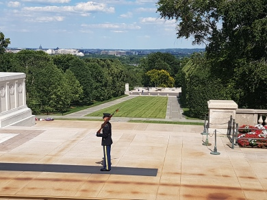 Protecting the Tomb of the Unknown Soldier