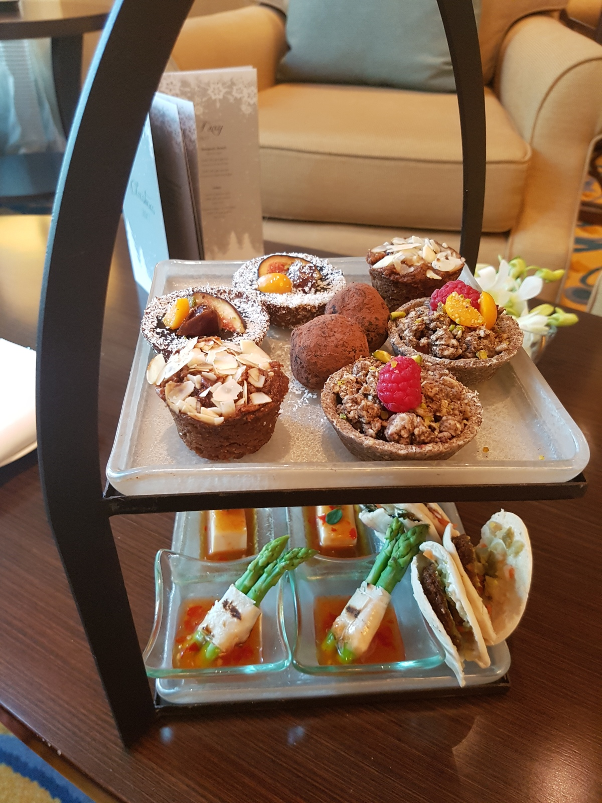 A High-Tea for Vegans in Qatar
