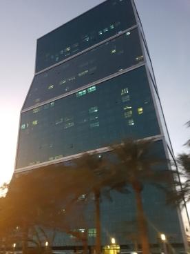 Zig zag building