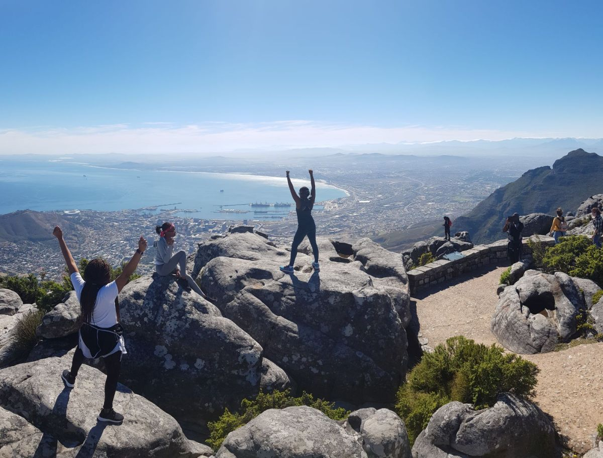 I Climbed Table Mountain