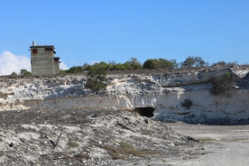 The Lime stone quarry where the prisoners had to work