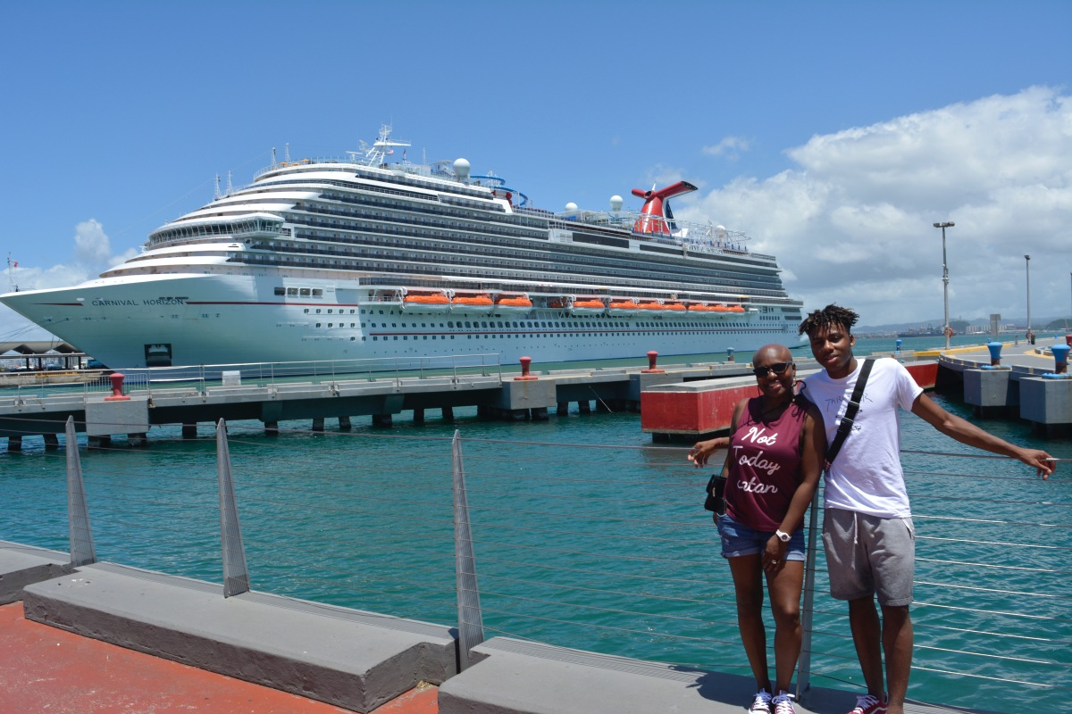 Eight Days on the Carnival Horizon Cruise Line